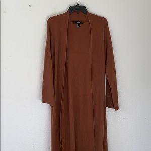 f21 • long cardigan